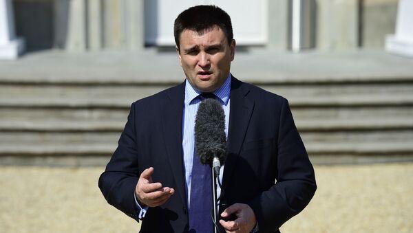 Ukrajinský ministr zahraničí Pavlo Klimkin - Sputnik Česká republika