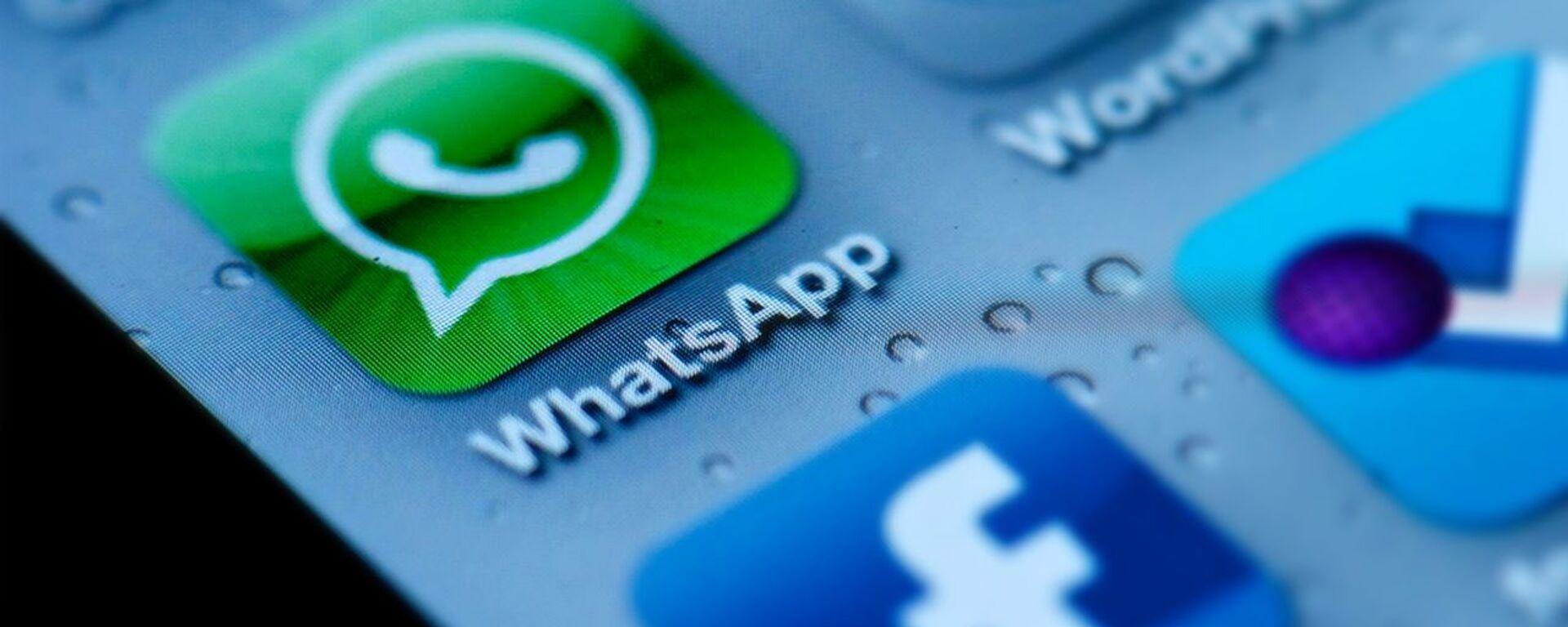 Messenger WhatsApp  - Sputnik Česká republika, 1920, 03.06.2021