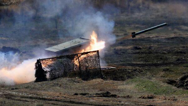Raketomet TOS-1 Buratino - Sputnik Česká republika