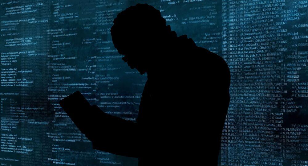 Hacker při práci (ilustrační foto)