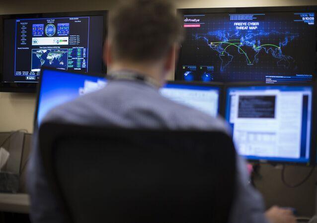Americký odborník na kybernetické hrozby. Illustrační foto