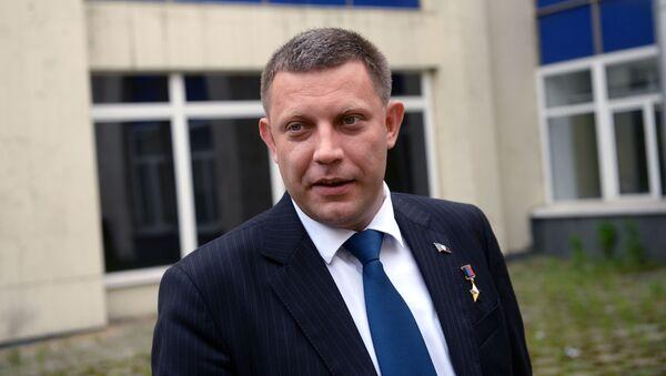Alexandr Zacharčenko. Ilustrační foto - Sputnik Česká republika