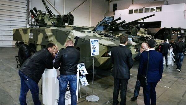 Výstava Zbraně a bezpečnost 2017 v Kyjievu - Sputnik Česká republika