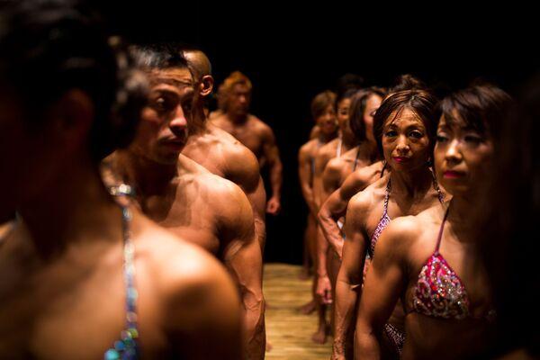 Soutěž v bodybuildingu v Japonsku - Sputnik Česká republika
