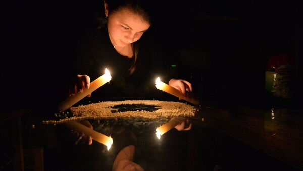 Dívka provádí rituál - Sputnik Česká republika