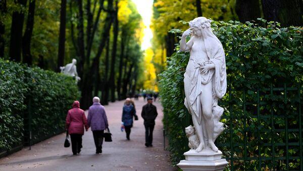 Podzim v Petrohradu - Sputnik Česká republika