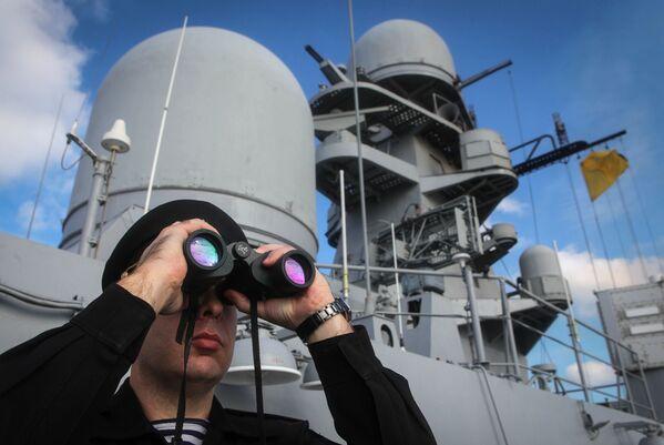 Vojenské cvičení loďstva Kaspické flotily - Sputnik Česká republika