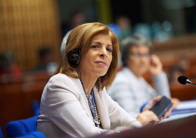 Předsedkyně PACE Stella Kyriakidisová