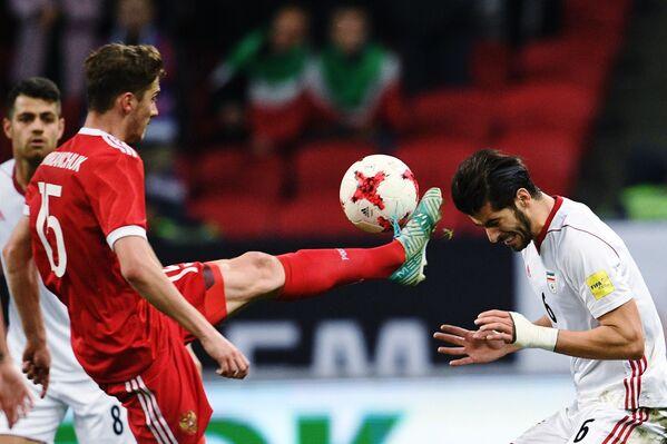 Přátelské fotbalové utkání mezi ruskou a íránskou reprezentací - Sputnik Česká republika