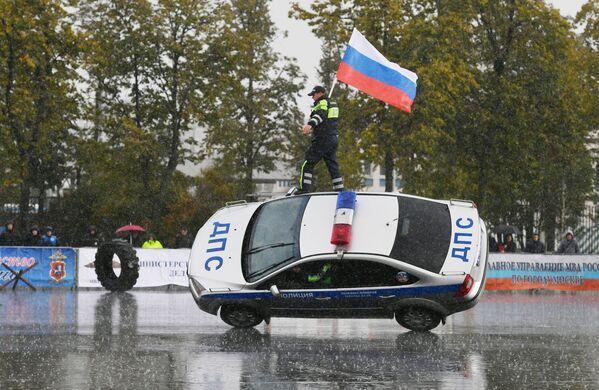 Sportovní slavnost moskevské policie - Sputnik Česká republika