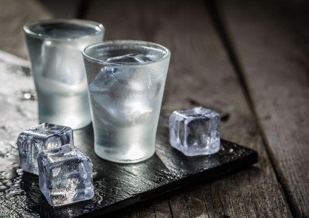 Panáky vodky