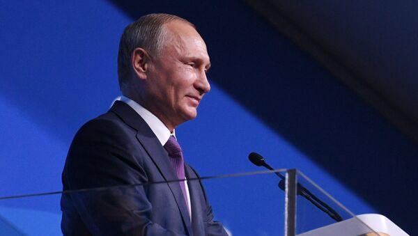 Ruský prezident Putin - Sputnik Česká republika