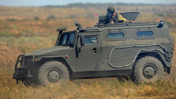 Obrněné vozidlo Tygr - Sputnik Česká republika