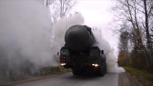 V Rusku se konala rozsáhlá raketová cvičení - Sputnik Česká republika