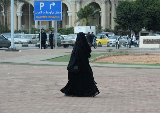 Obyvatelka Káhiry