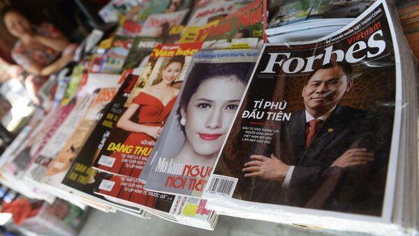 Forbes - Sputnik Česká republika