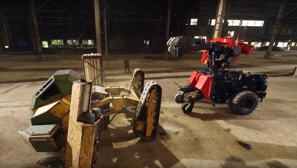 První v dějinách boj obřích robotů ukázali na videu - Sputnik Česká republika