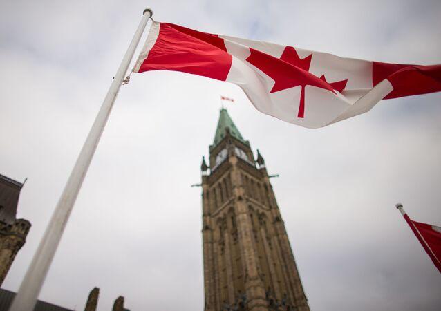 Budova kanadského parlamentu