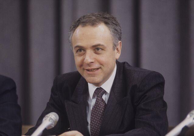 Bývalý ruský ministr zahraničí Andrej Kozyrev