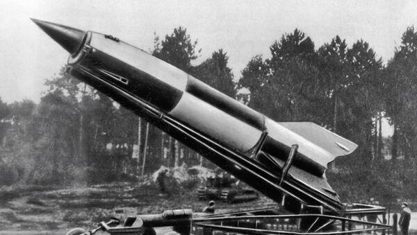 Německá raketa FAU-2 - Sputnik Česká republika