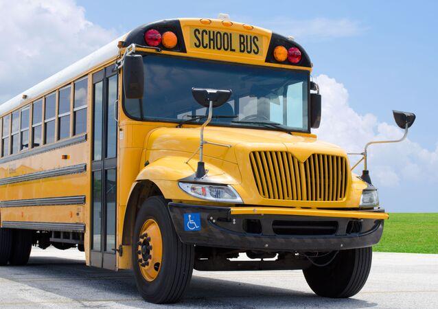 školní autobus, ilustrační foto