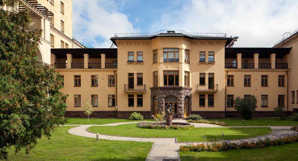České velvyslanectví v Moskvě. Ilustrační foto