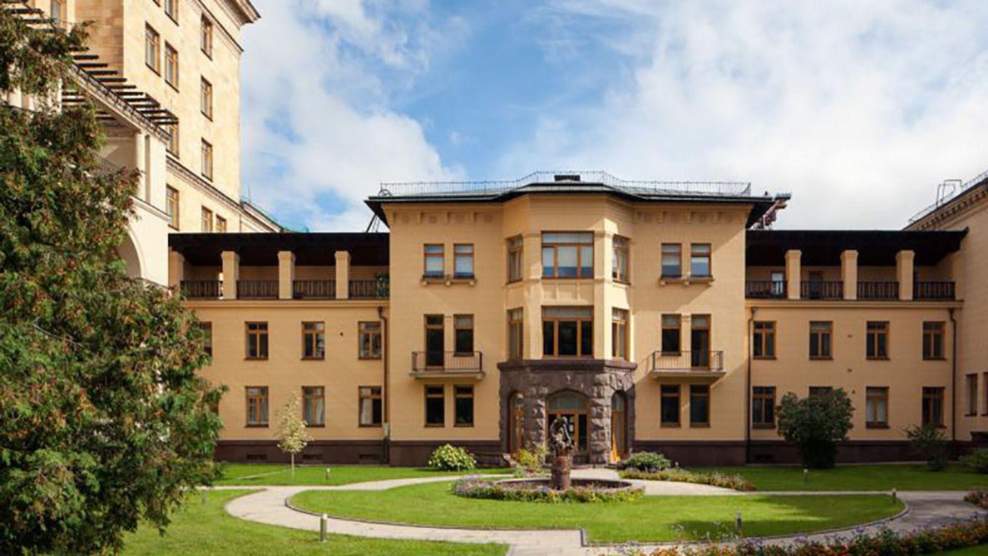 Здание посольства Чехии в Москве - Sputnik Česká republika, 1920, 23.04.2021