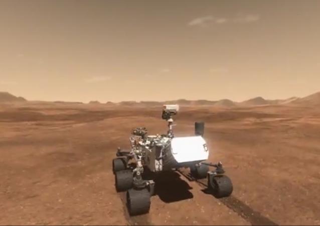 3D-mapa povrchu Marsu
