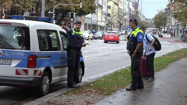 Policie v Mnichově - Sputnik Česká republika