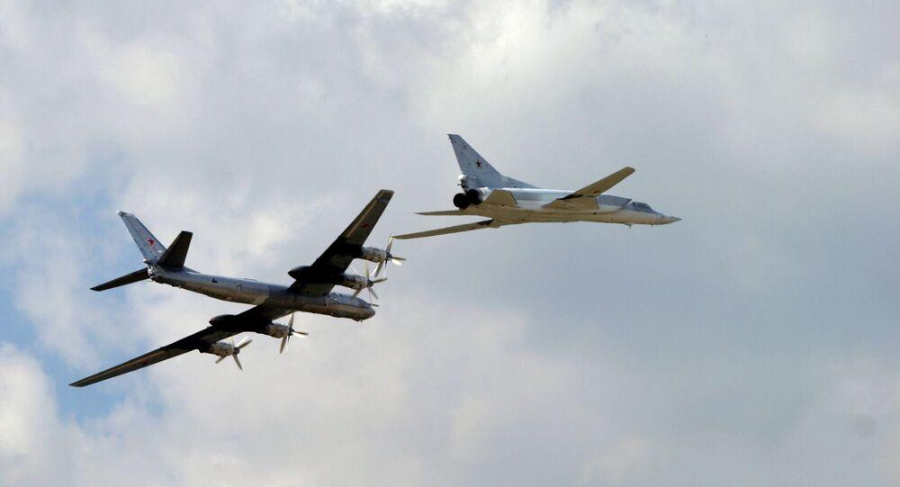Strategické bombardéry Tu-95 a Tu-22