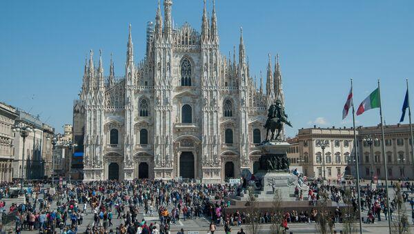 Milán, Lombardie - Sputnik Česká republika