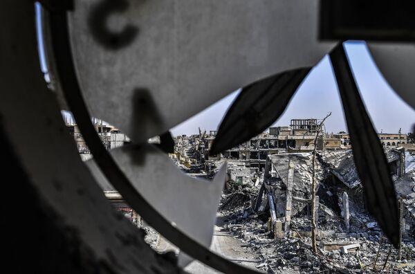 Nové Drážďany: Ruiny syrského města Rakka - Sputnik Česká republika
