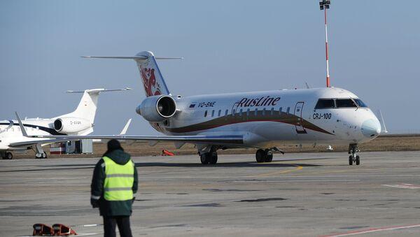 Letadlo společnosti RusLine - Sputnik Česká republika