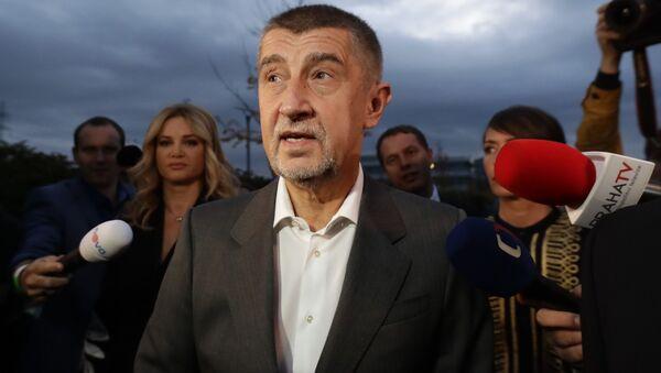 Lídr hnutí ANO Andrej Babiš - Sputnik Česká republika