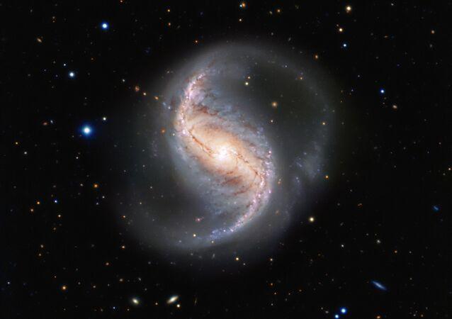Fotografie galaxie NGC 986
