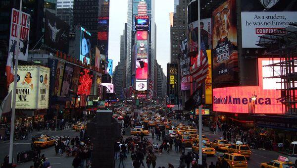Times Square - Sputnik Česká republika