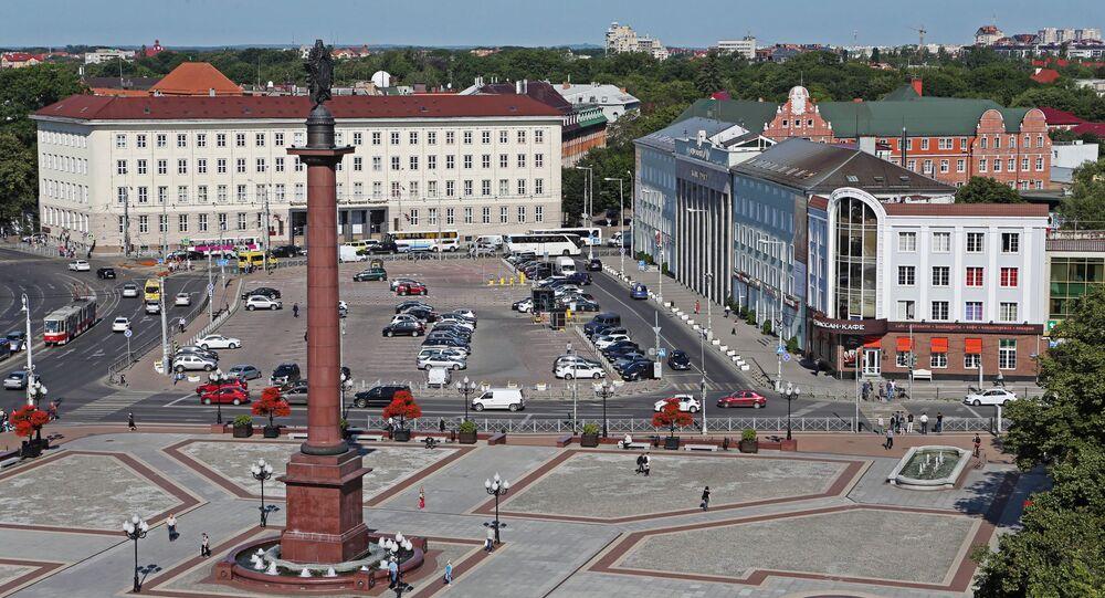 Hlavní městské náměstí v Kaliningradu