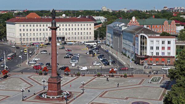 Hlavní městské náměstí v Kaliningradu - Sputnik Česká republika