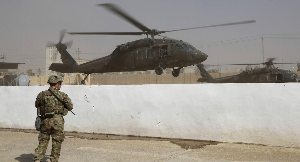 Vrtulník koalice USA