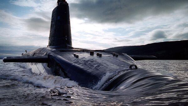 Britská jaderná ponorka HMS Victorious třídy Vanguard - Sputnik Česká republika