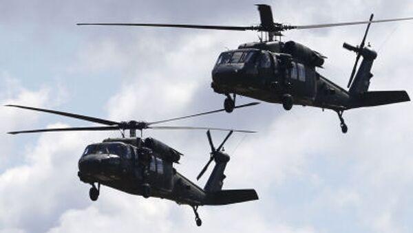 Vrtulníky NATO - Sputnik Česká republika