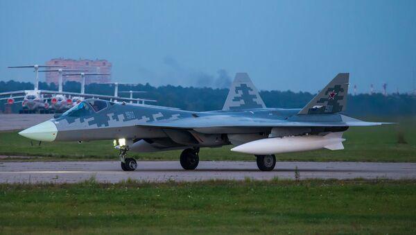 Su-57 PAK-FA - Sputnik Česká republika