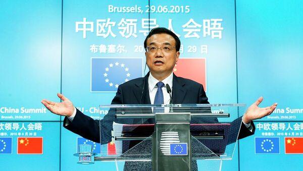 Předseda Státní rady ČLR Li Kche-čchiang - Sputnik Česká republika