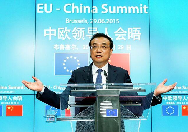 Předseda Státní rady ČLR Li Kche-čchiang