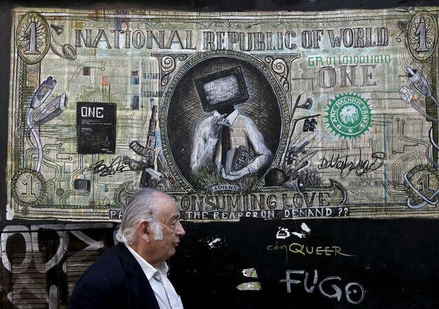 Graffiti v Athénách