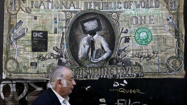 Graffiti v Athénách - Sputnik Česká republika