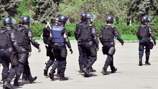 Policie v Oděse. Ilustrační foto - Sputnik Česká republika