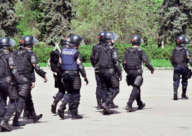Policie v Oděse. Ilustrační foto