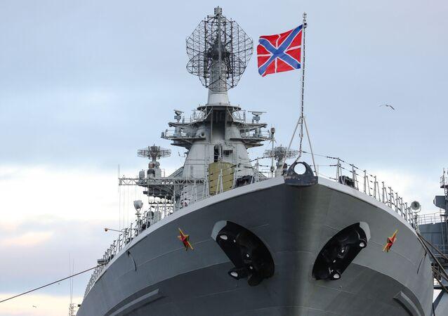 Lodě Severní flotily v Kolském zálivu