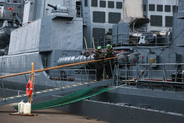 Lodě Severní flotily v Kolském zálivu - Sputnik Česká republika